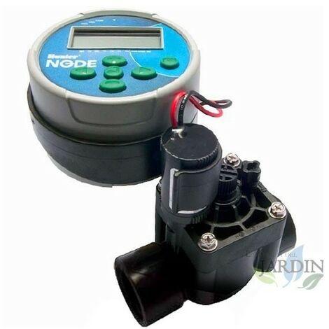 """Kit contrôleur d'irrigation à piles NODE100 Hunter + électrovanne PGV100 9V 1"""""""