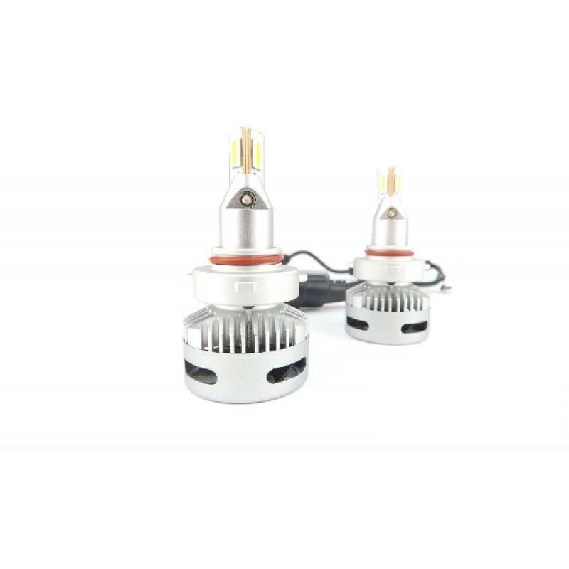 Kit Conversion LED 2 ampoules HB3 9005 et HB4 9006 6000K V1PJ