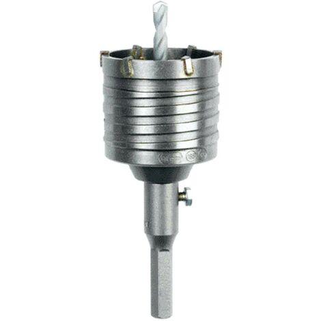 Kit couronnes HELLER d : 68x50mm avec foret de centrage et base hexagonale