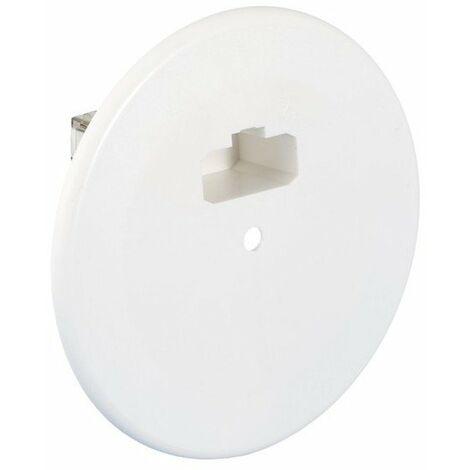 Kit couvercle de finition DCL + Douille E27 - Diamètre 120 mm - Piton 100 mm - Position tangentielle