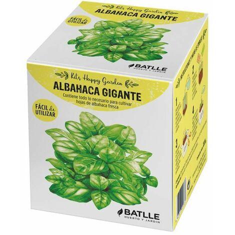 Kit Cultivo Happy Garden Albahaca Gigante