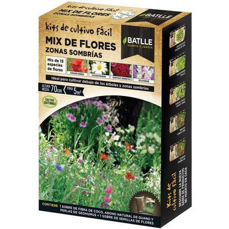 Kit Cultivo Mix Flores Zonas Sombrías