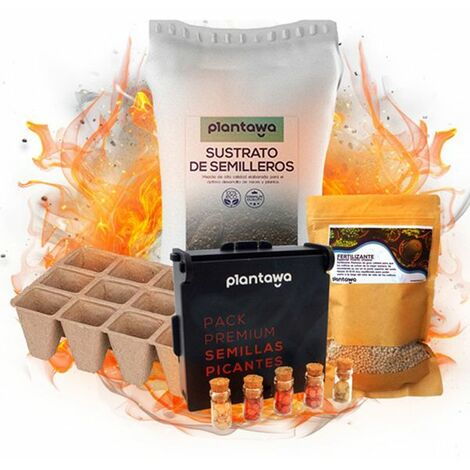 Kit Cultivo Pimientos Picantes Premium
