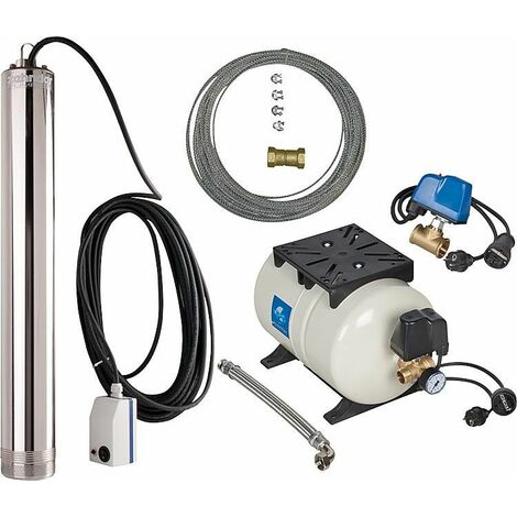 kit d alimentation en eau TM12 avec pompe, 3300 l/h, 900 W, commutateur