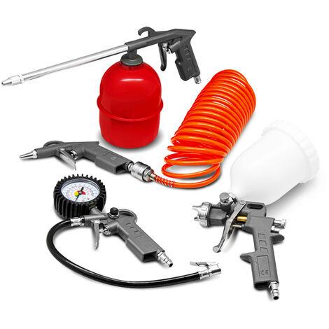 Kit d'accessoires 5pcs pour compresseur - Construc