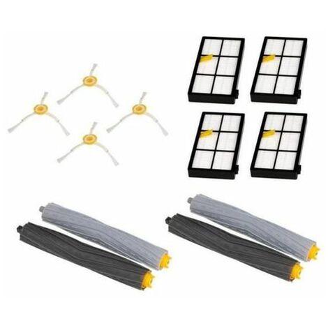 Kit d'accessoires de rechange Pièces pour iRobot Roomba 800/900 série 870 880 980 Robots d'aspirateur