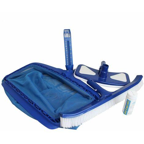 Kit d'accessoires entretien pour piscine - Linxor