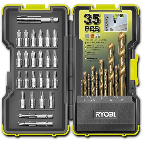 Kit d'accessoires pour perceuse Ryobi RAK35 HSSSD