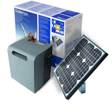Kit d'alimentation solaire (panneau + batterie) Nice Solemyo