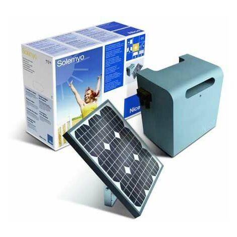 KIT d'Alimentation solaire SOLEMYO NICE pour automatisme (Panneau + Caisson) - SYKCE