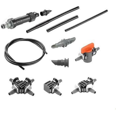 Kit d'arrosage pour mur végétal d'angle de 12 modules