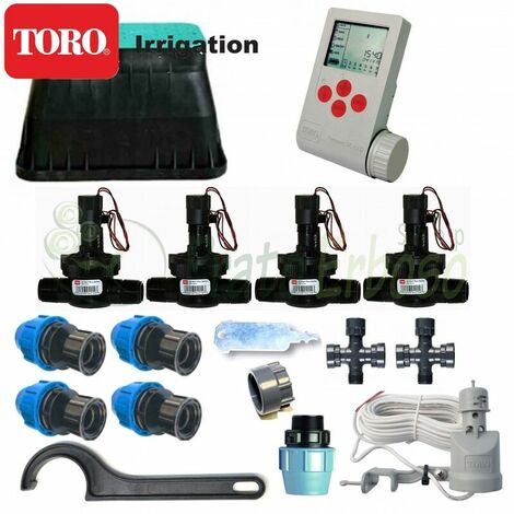 Kit d'arrosage Toro 4 zones 9V