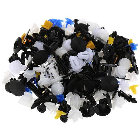 Kit d'assortiments de clips de moulage de garniture de fixations de rivets en plastique de carrosserie de voiture