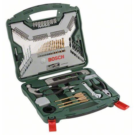 Kit de 103 pzas. X - Line Titanium Bosch Titanium