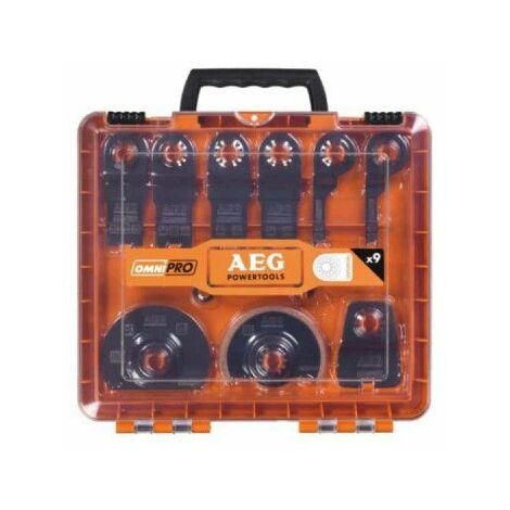 Kit de 11 lames multitool et accessoires AEG 4932430314