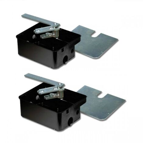 Kit de 2 fundación de Cajas de Vino de motores de metro de 001FROG-Cf