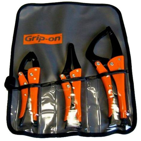 Kit de 3 pinces étaux GK-SET3 spécial maintenance automobile - 53212 - Piher