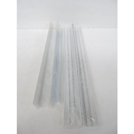 Kit de 4 accessoires blanc H60mm pour montage en saillie de dalle LED 600X600mm type PURE LED CONFORT 2 TRAJECTOIRE 004668