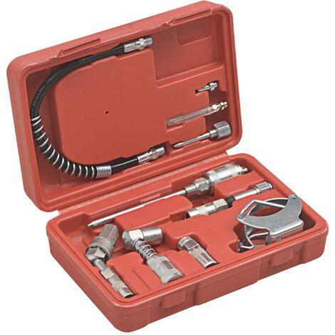 Kit de accesorios de lubricación 11 piezas