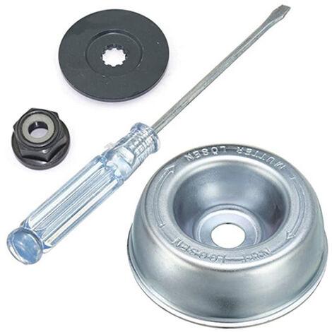 Kit de adaptador de cuchilla para cortacesped para maquina de jardineria