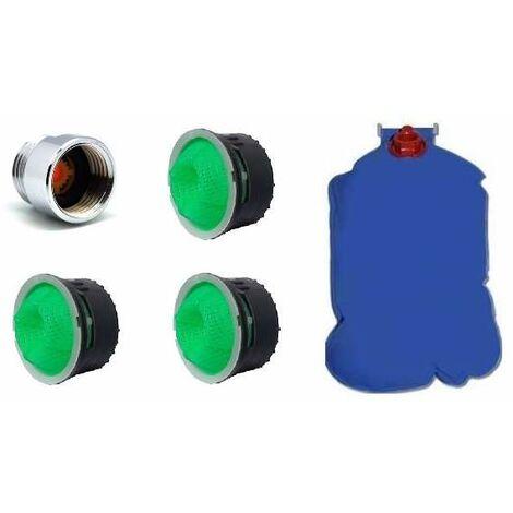 """main image of """"Kit de ahorro de agua para la ducha, el grifo y el wc"""""""