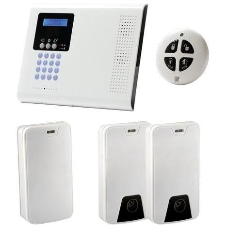 Kit de alarma profesional bidireccional Comunicación LAN/GPRS/GSM Inalámbrico 868 MHz. Electronics Line