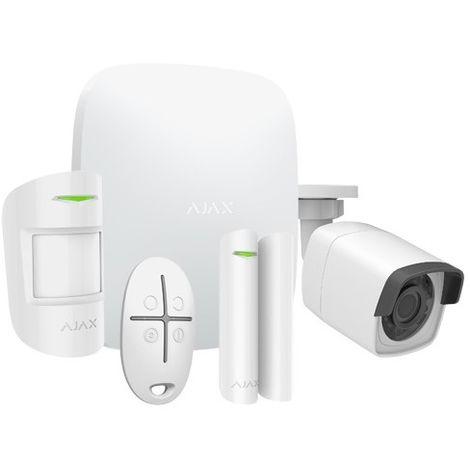 Kit de alarma profesional Grado 2 inalámbrica + cámara IP Ajax