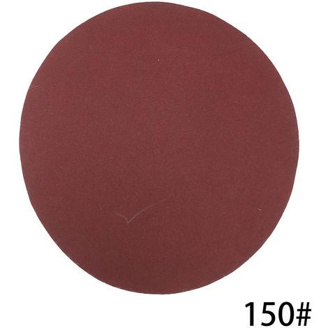 Kit de almohadillas para discos de lijado de 125 mm, grano 150, 100 piezas