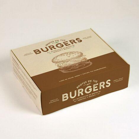 Kit de Autocultivo Brotes Burger