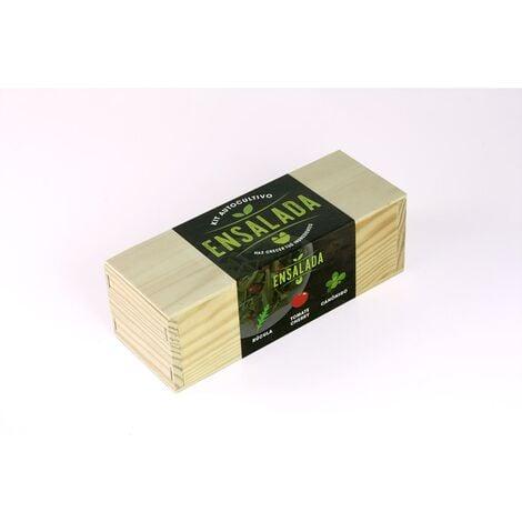Kit de autocultivo culinario bombas de semillas Ensaladas