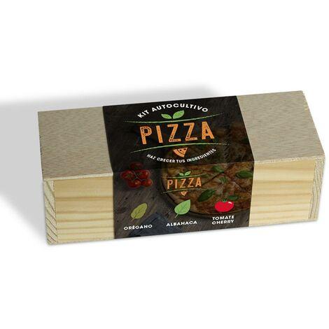 Kit de autocultivo culinario bombas de semillas Pizza