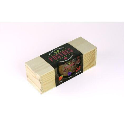 Kit de autocultivo culinario bombas de semillas Postres