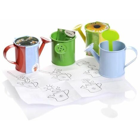 Kit de autocultivo para niños 4 mini regaderas