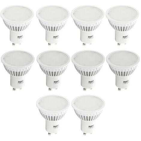 Kit de Bombillas LED Beghelli 7W GU10 6500K 10 piezas 56859