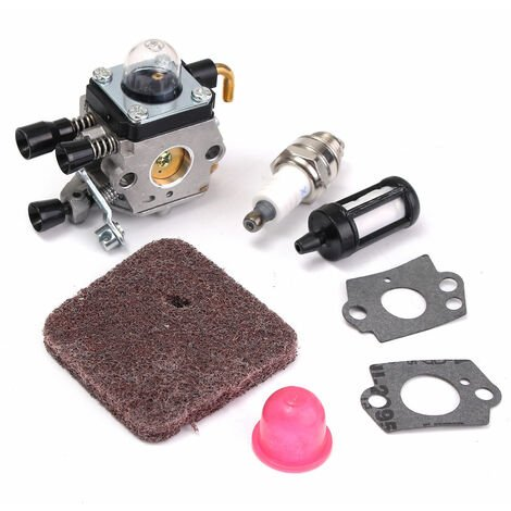 KIT de carburador para desbrozadora compatible con Stihl FS38 FS45 FS46 FS55 HS45 FC55 KM55 FS85