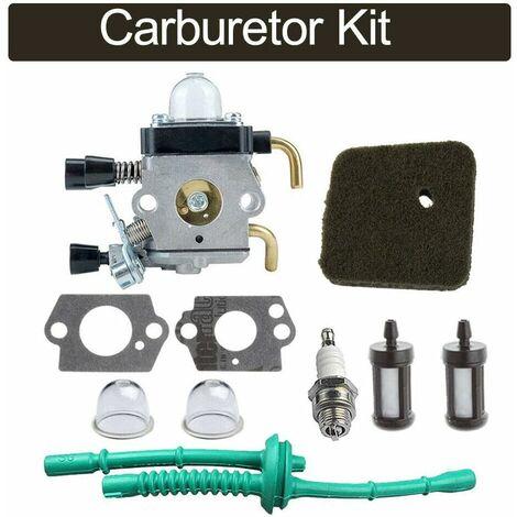 Kit de carburateur, carburateur de remplacement pour STIHL FS38 FS45 FS45C FS45L FS46 FS46C FS55 FS55C FS55R FS55RC FS55T débroussailleuse STIHL KM55 KM55C KM55R KM55RC kombi Moteur