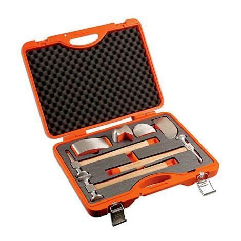 Kit de carrosserie Aluminium - Tas et marteaux - 7 pcs