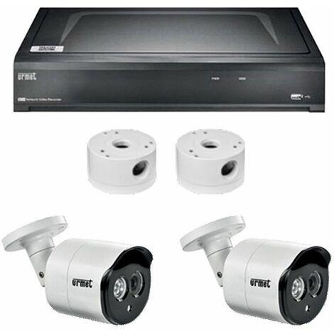 Kit de Cctv, Urmet NVR de 4 Canales IP con 2 cámaras de 5MPX 1098/824