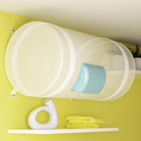 Kit de cerclage Atlantic, fixation plafond pour chauffe-eau horizontal