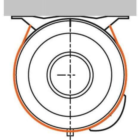 Kit de cerclage pour chauffe-eaux horizontal de 75 à 200 litres Atlantic 009115