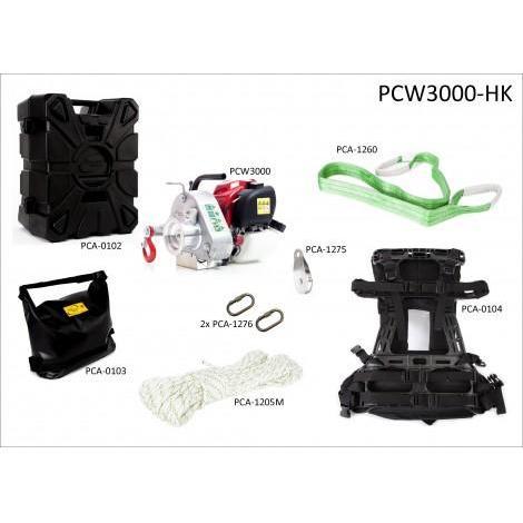 KIT DE CHASSE AVEC TREUIL PCW3000 ET CAISSON PCW3000-HK