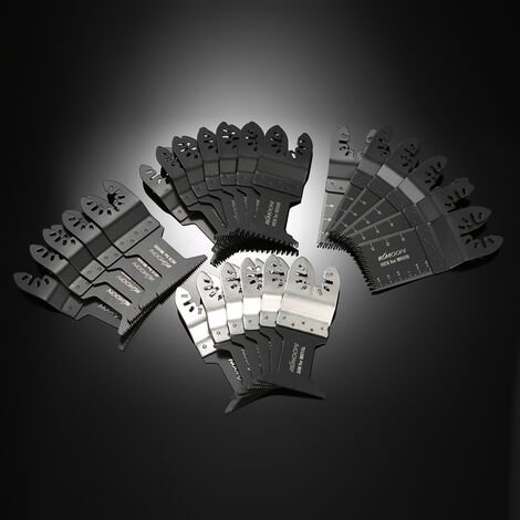 Kit de cinta de sierra oscilante multiherramienta de 24 piezas KKmoon