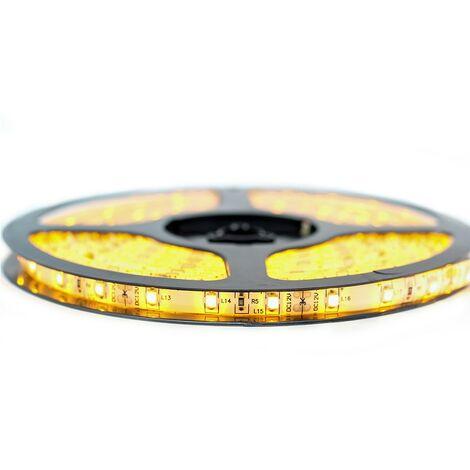 Kit de cinta profesional 3528 - 60 leds/m - 1m, 2.5m, 5 o 10 metros a elegir - color dorado a prueba de salpicaduras (IP65)
