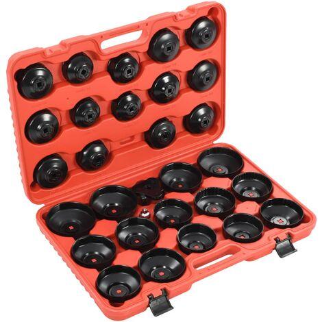 Kit de clés de filtre à huile 30 pcs
