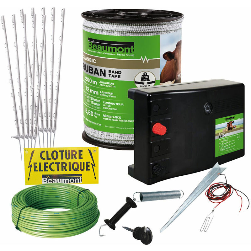 Kit de clôture pour chien difficile à garder BEAUMONT