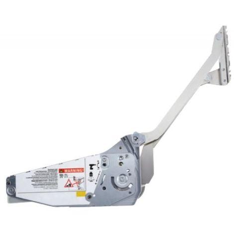 Kit de compas de relevage FREE SLIDE - ferrures droite/gauche, 2 attaches façade, 2 fixations H380 à 500mm 6,30-12,40kg