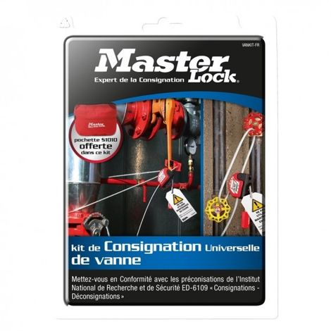 Kit de consignation Master Lock Vankit
