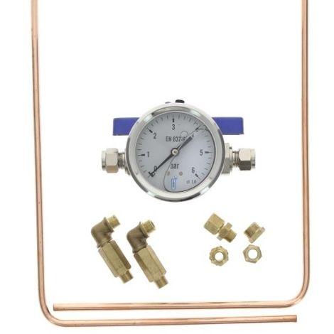 Kit de contrôle pression 0 / 6 bars