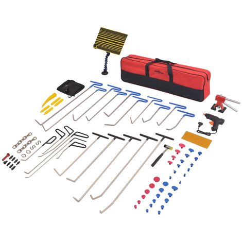 Kit de debosselage sans peinture PDR 87 pcs Acier inoxydable