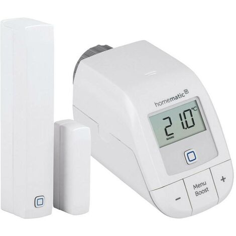 Kit de démarrage chauffage avec vanne et détecteur - Homematic Ip